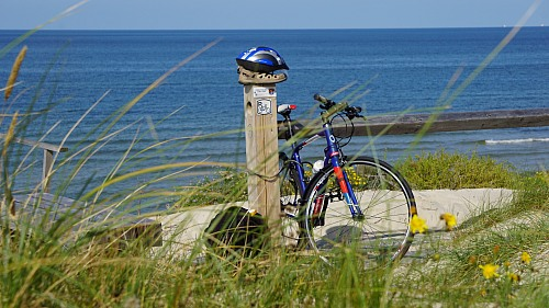 Juodkrante, Curonian Spit The best way to travel is cycling along Curonian Spit. Sustainability / sustainable methods