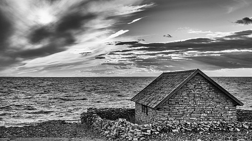 Sandvik <p>Old fishing hut</p> <p>An old fishing hut located outside Sandvik, which has been the centre of &Ouml;land&rsquo;s limes- tone industry for many years.&nbsp;</p> <p>Fishing has been an important source of income on the island, but now only a few professional fishermen remain</p> Heritage ©Mons Annér