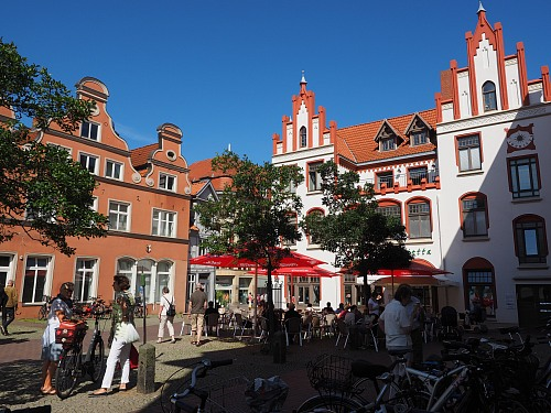 Wismar At the marketplace Culture Michel Kruse